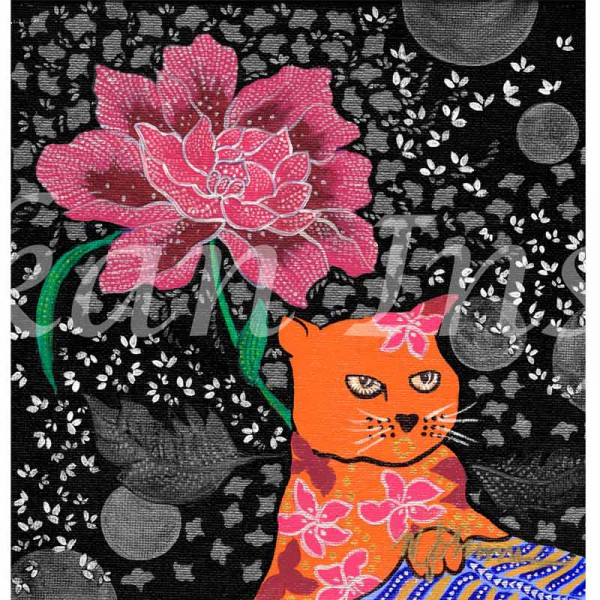 Cat Series1-Panel of 3
