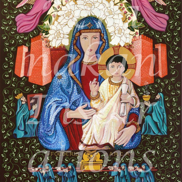 Mary, Ark of the covenant 2015